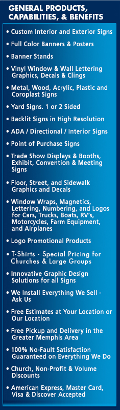 special fx signs innovative design solutions a division of pip printing and marketing services of memphis tennessee signs banners magnetics